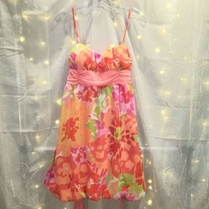 BCX sweetheart dress / straps